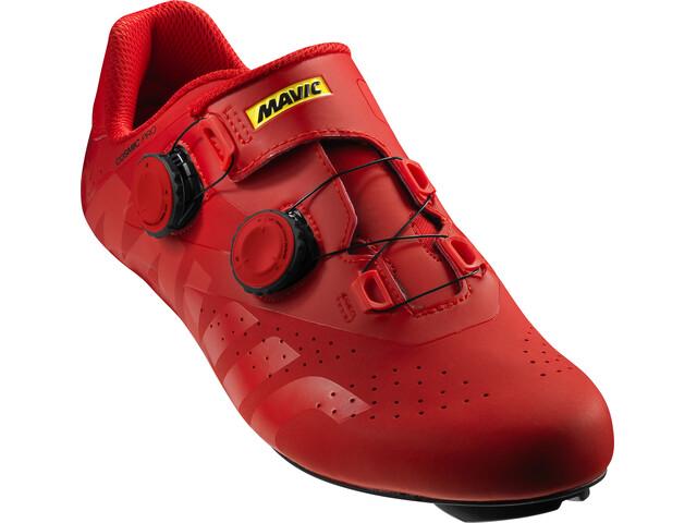 Mavic Cosmic Pro Shoes Unisex Fiery Red/Fiery Red/Black